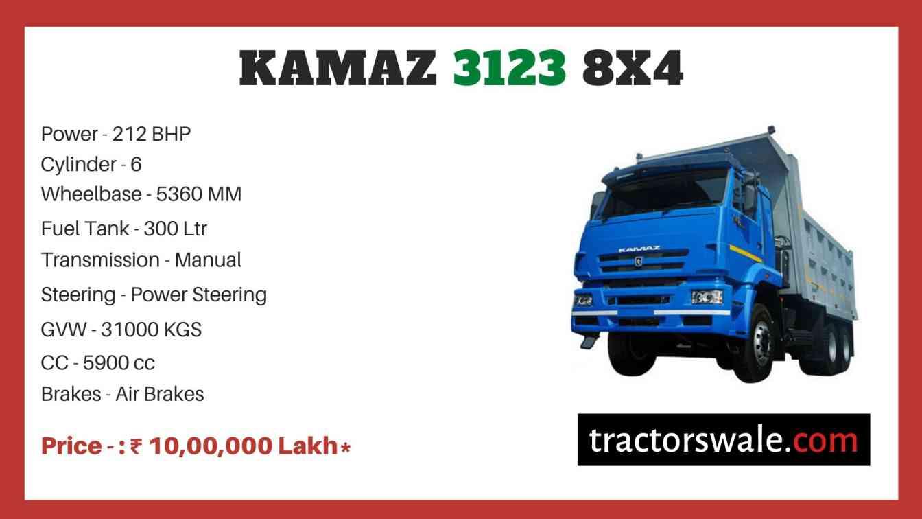 Kamaz 3123 8x4 price