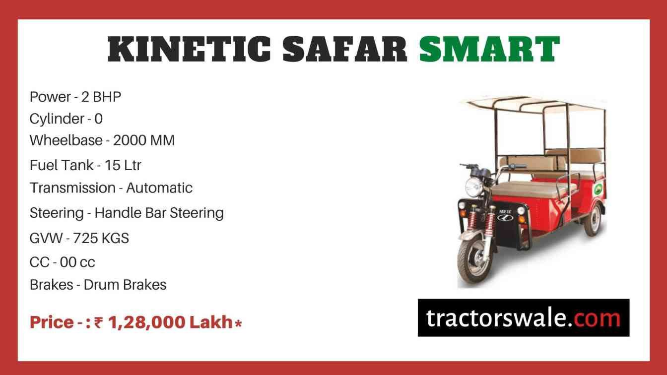 Kinetic Safar Smart price