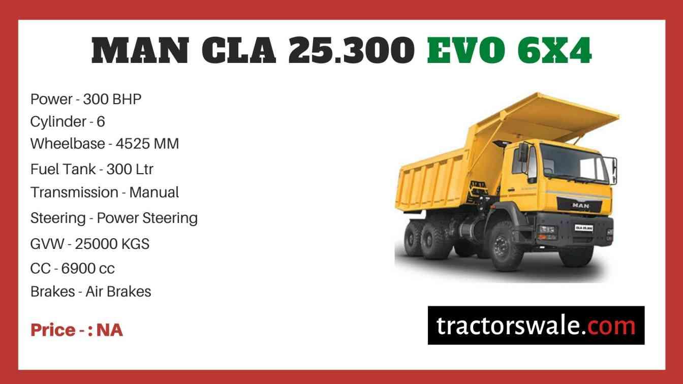 MAN CLA 25.300 EVO 6x4 price