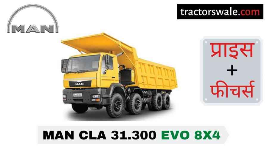 MAN CLA 31.300 EVO 8x4