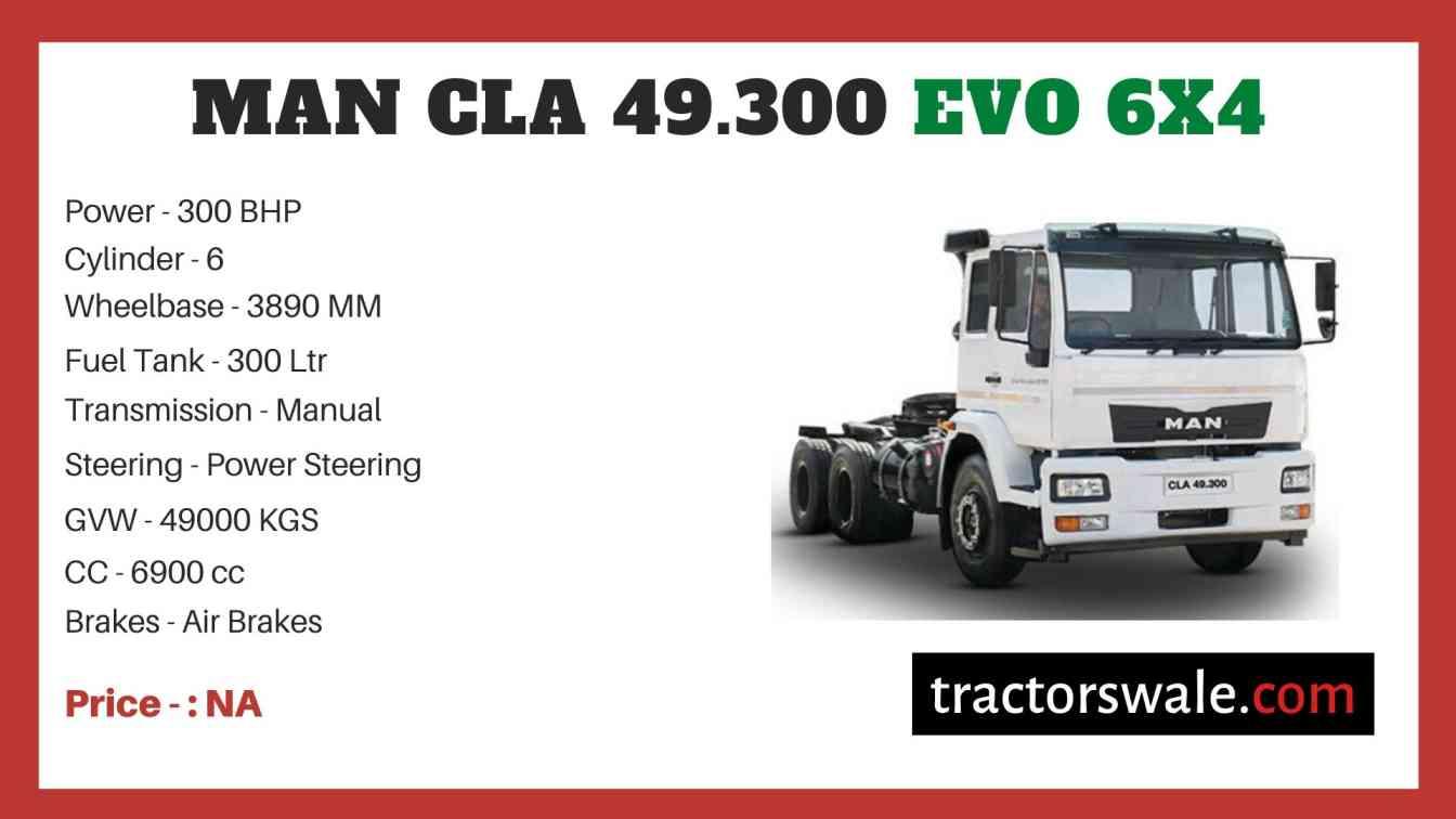 MAN CLA 49.300 EVO 6x4 price