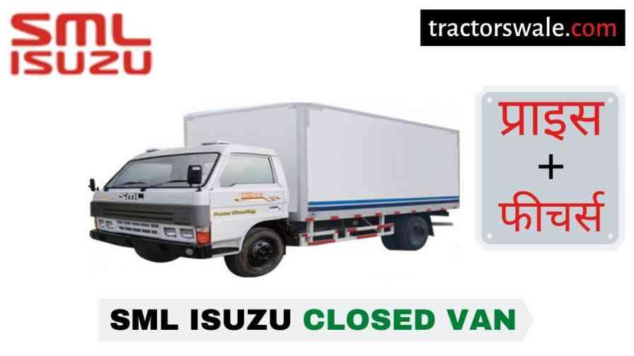 SML Isuzu Closed Van BS-IV