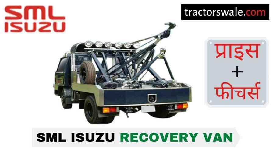 SML Isuzu Recovery Van