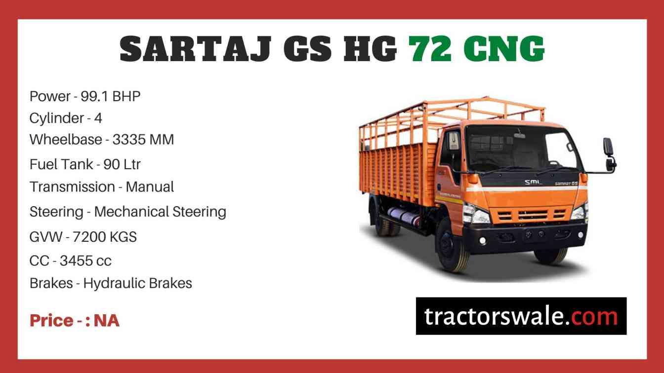 SML Isuzu Sartaj GS HG 72 CNG price