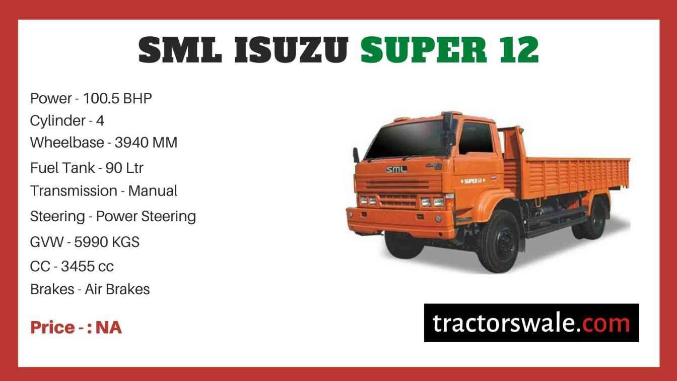 SML Isuzu Super 12 price