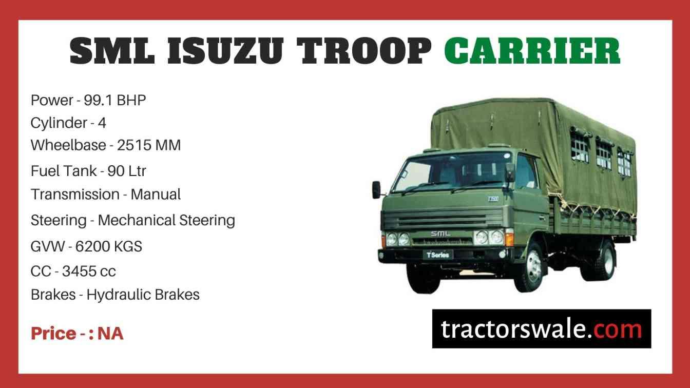SML Isuzu Troop Carrier price