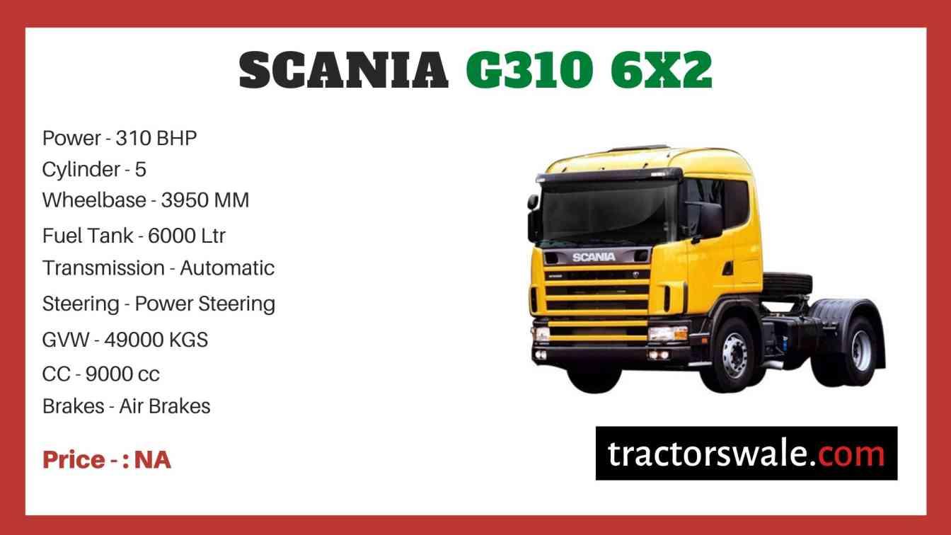 Scania G310 6x2 price