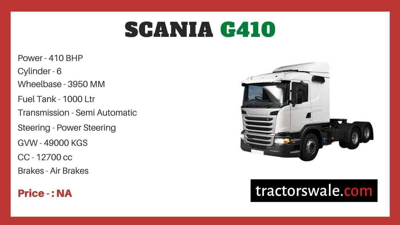 Scania G410 price