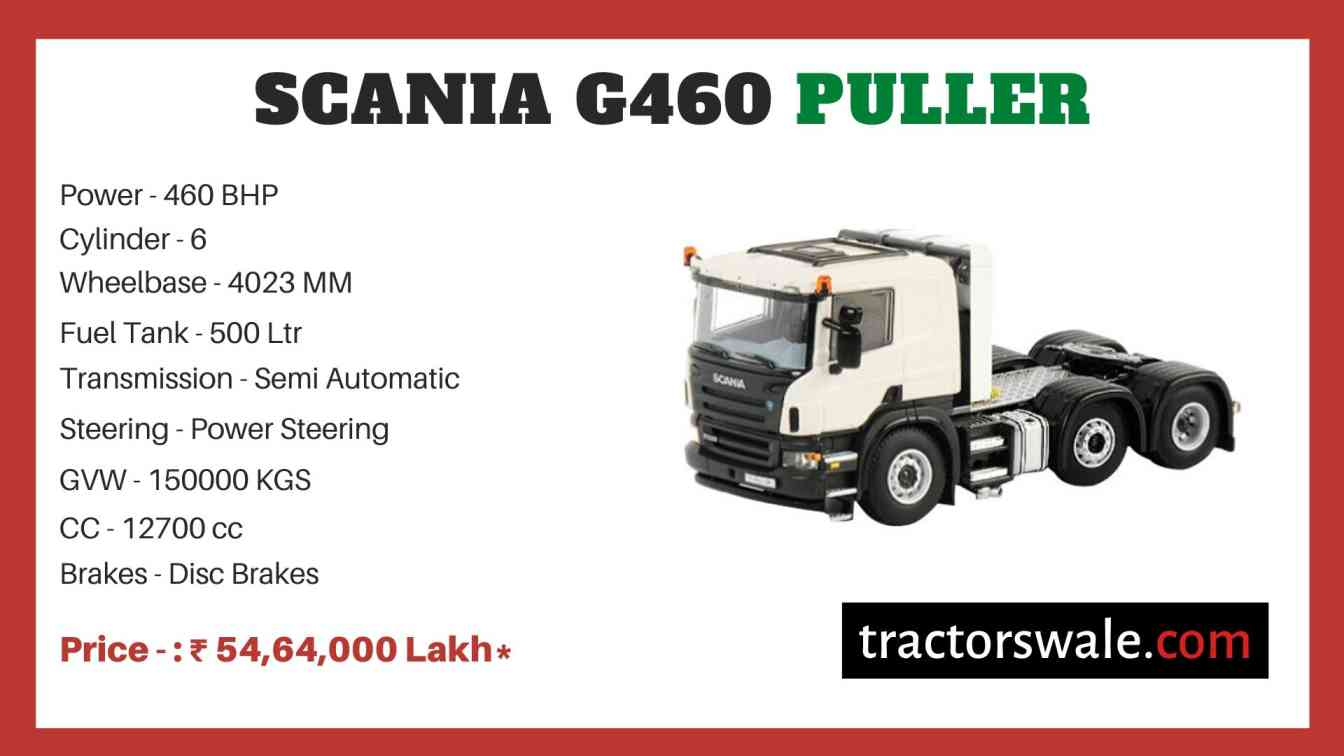 Scania G460 Puller price