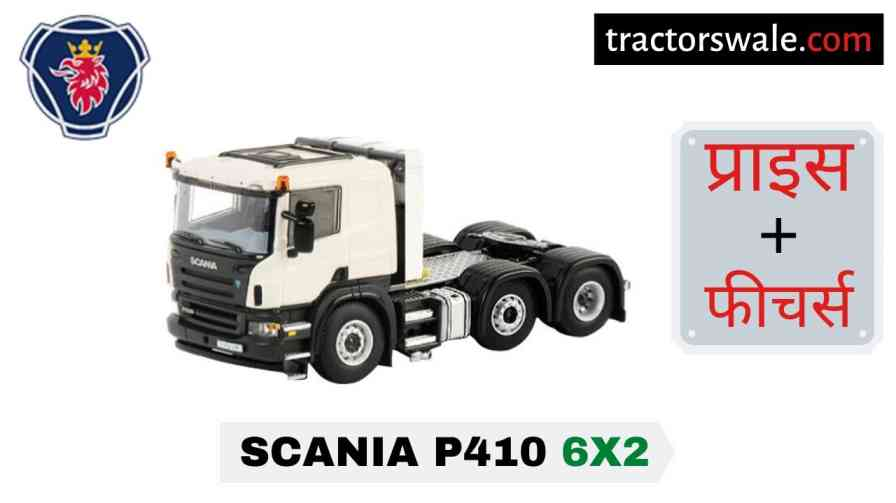 Scania P410 6×2