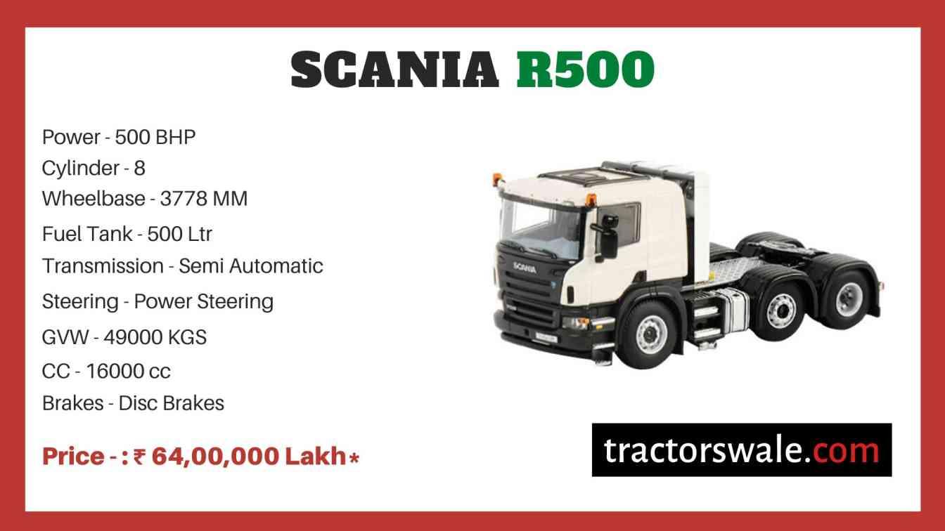Scania R500 price