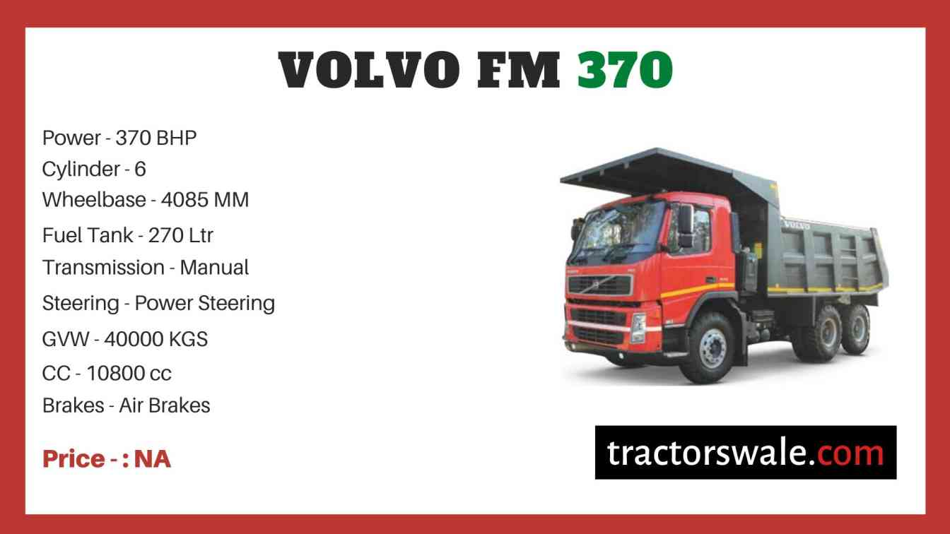 Volvo FM 370 price