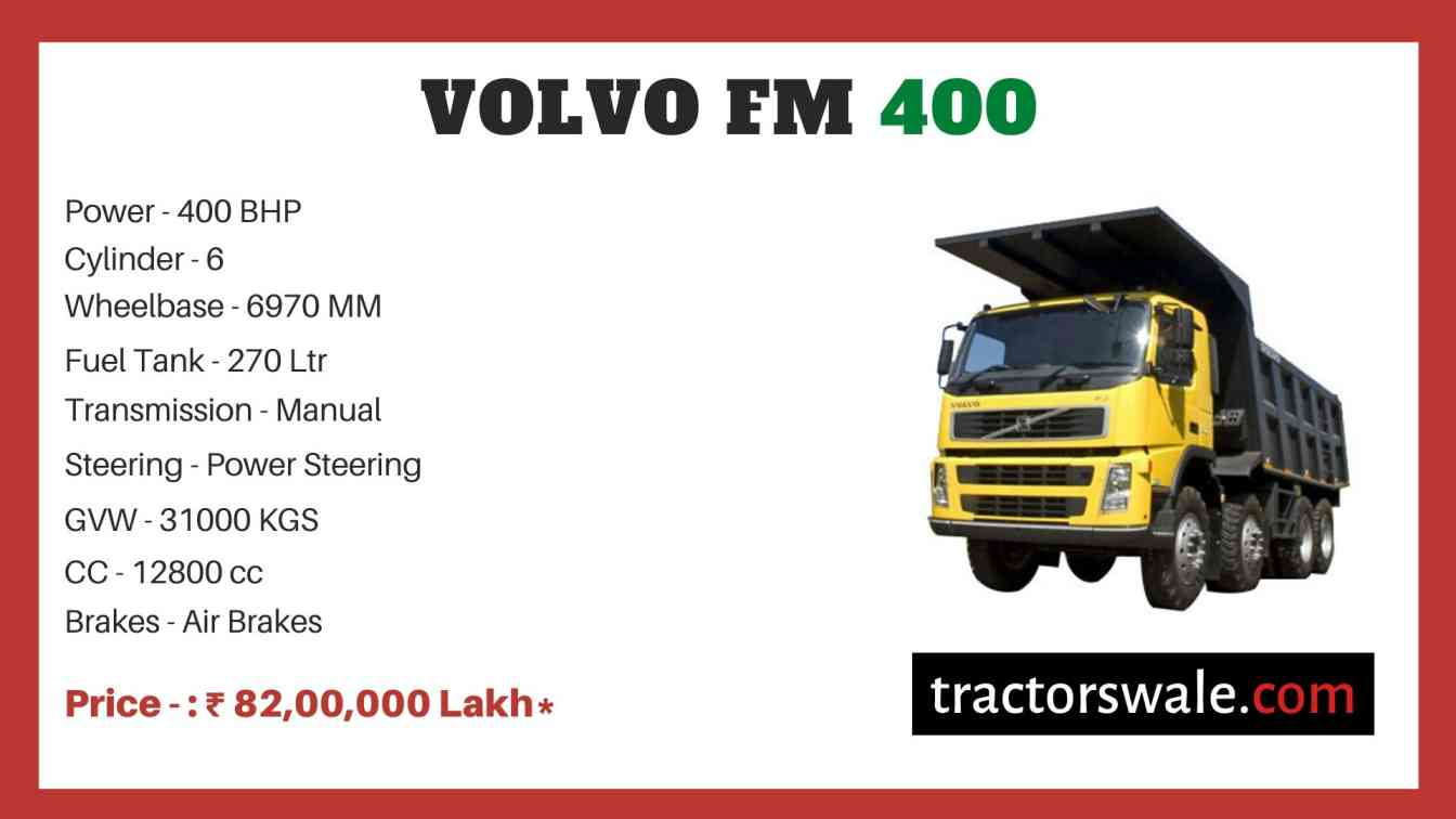 Volvo FM 400 price