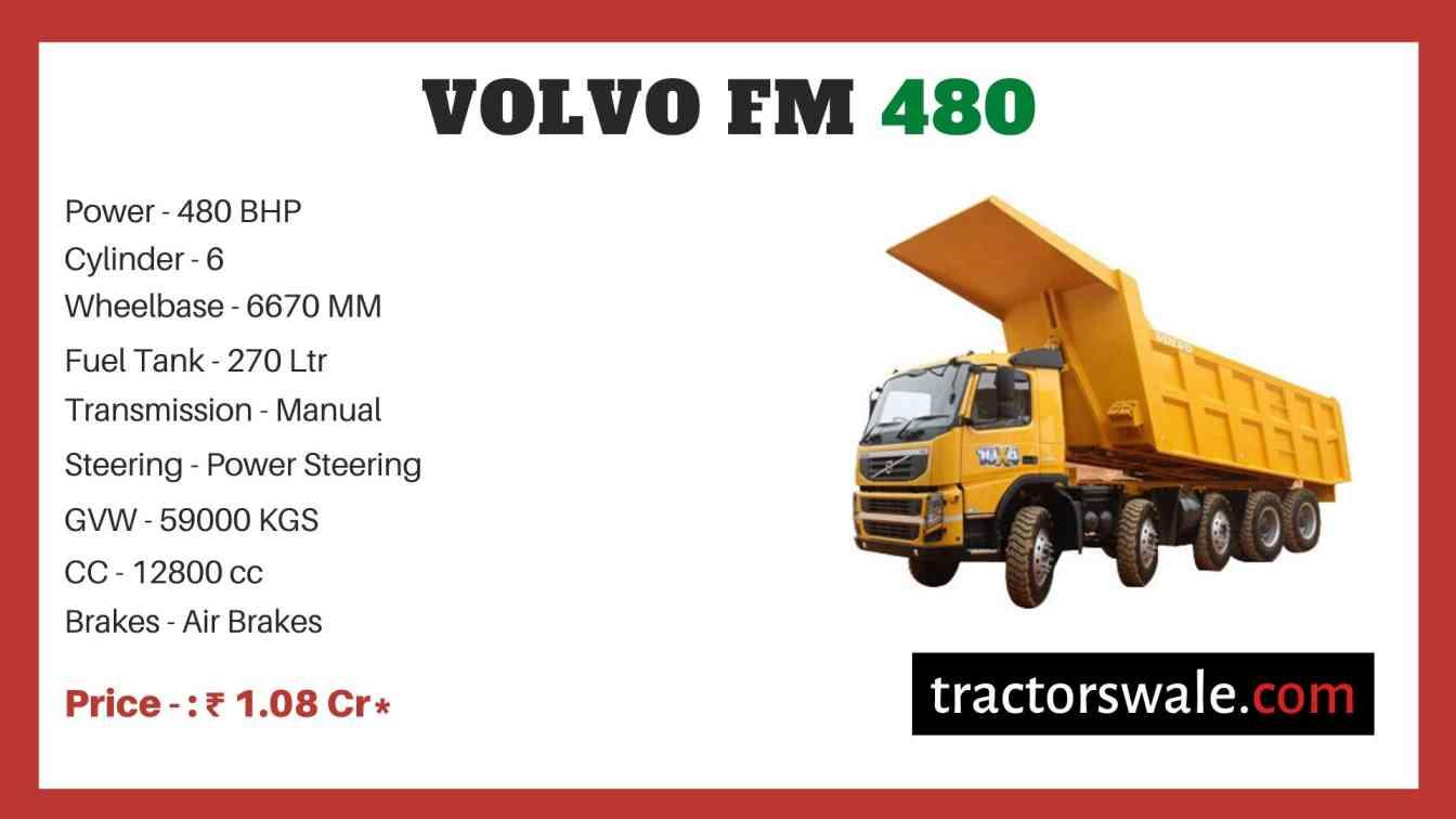 Volvo FM 480 price