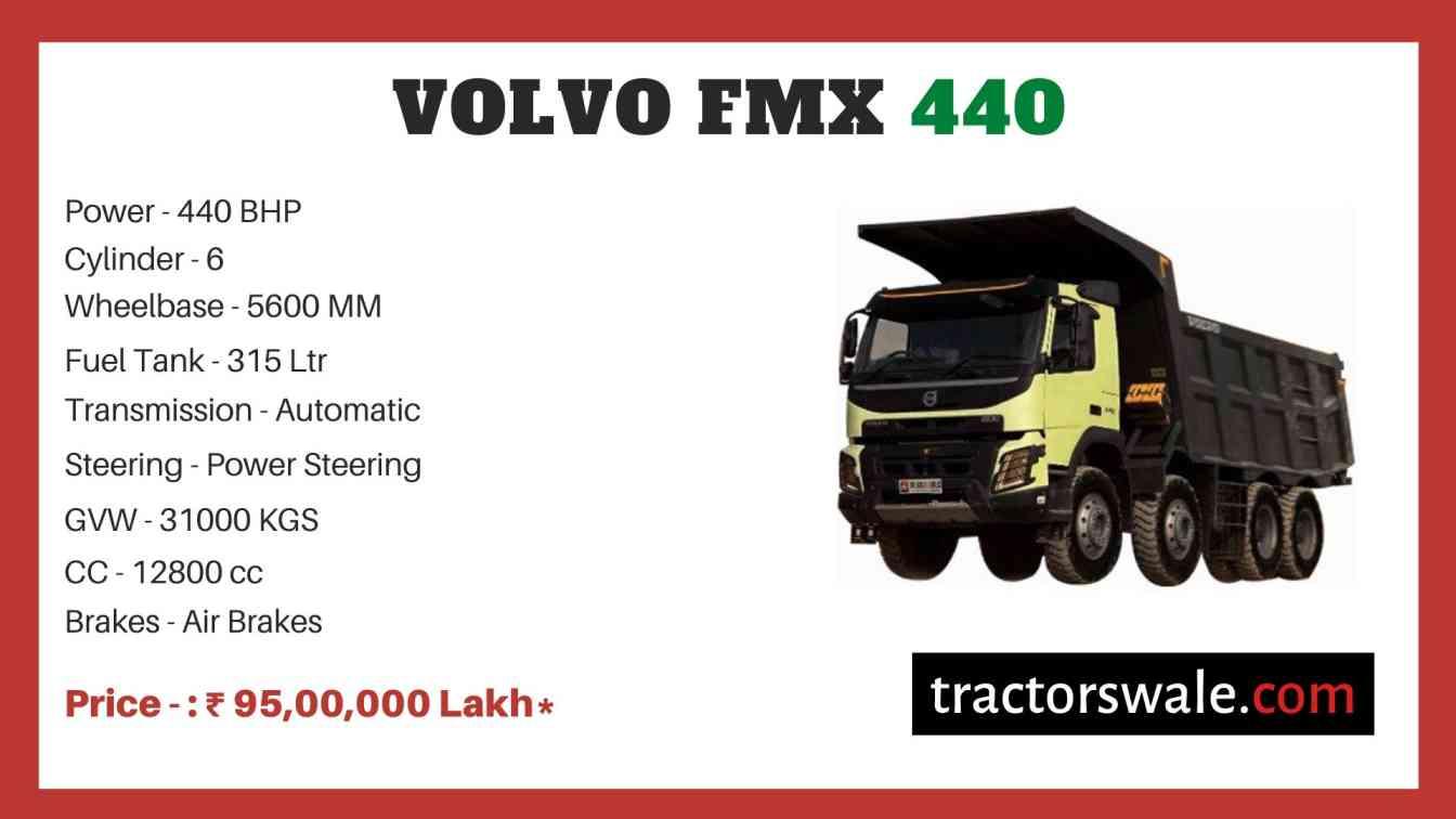 Volvo FMX 440 price