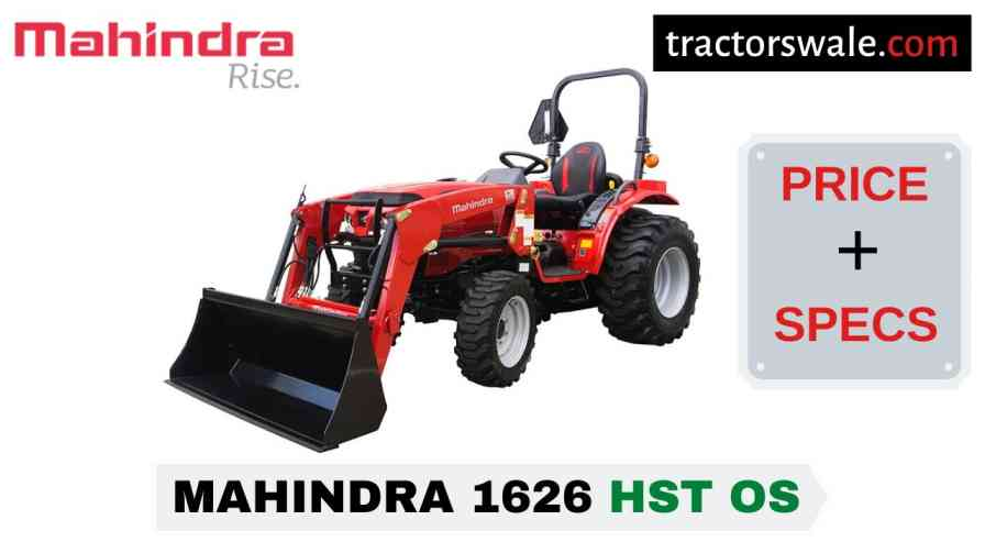 Mahindra 1626 HST OS