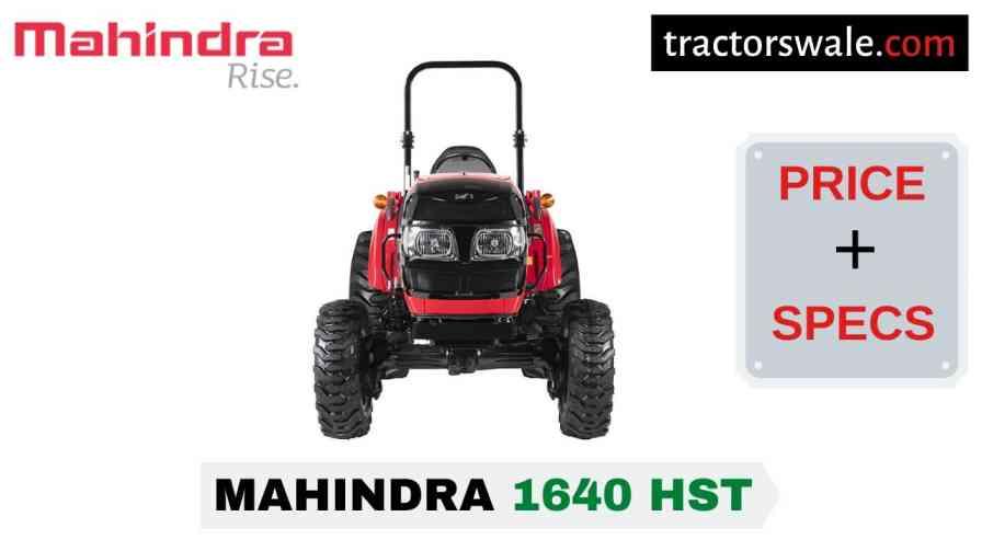 Mahindra 1640 HST