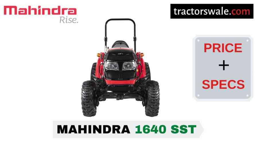 Mahindra 1640 SST