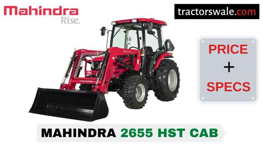 Mahindra 2655 HST CAB