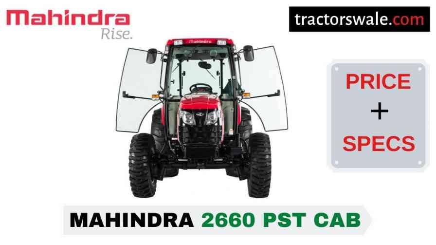 Mahindra 2660 PST CAB