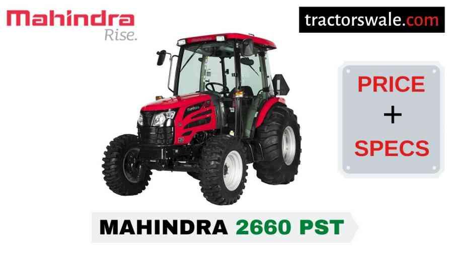 Mahindra 2660 PST Tractor Price, Specs, Mileage | 2020