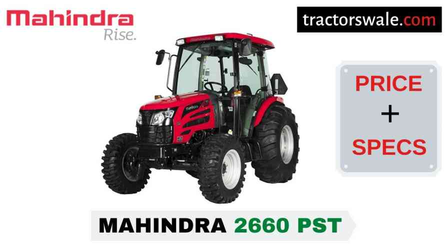 Mahindra 2660 PST Tractor Price, Specs, Mileage | 2020