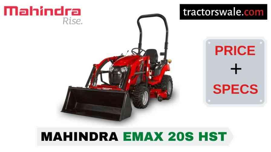 Mahindra Emax 20S HST