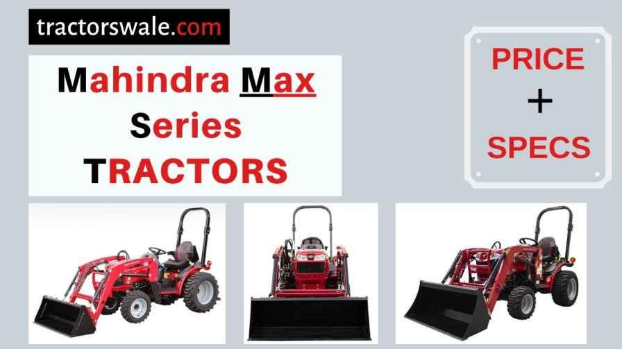 Mahindra MAX Series Tractors