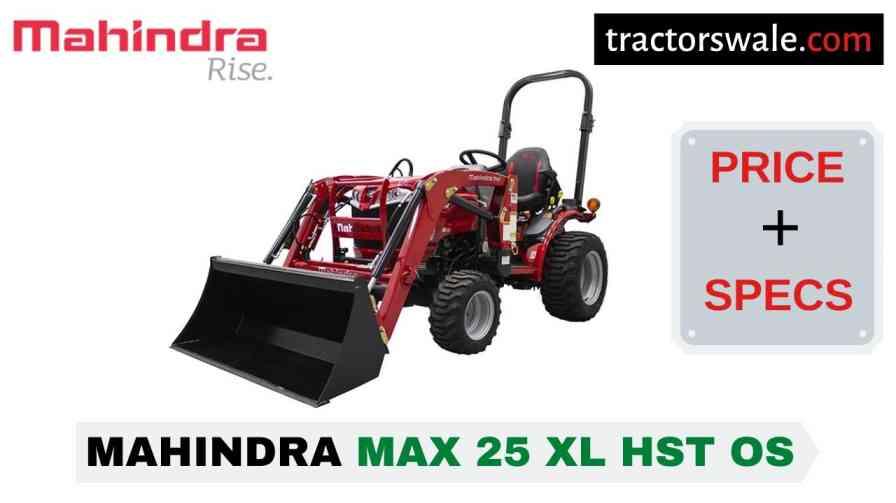 Mahindra Max 25 XL HST OS