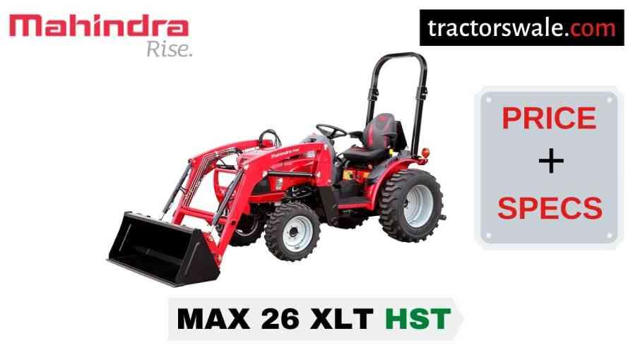 Mahindra Max 26 XLT HST