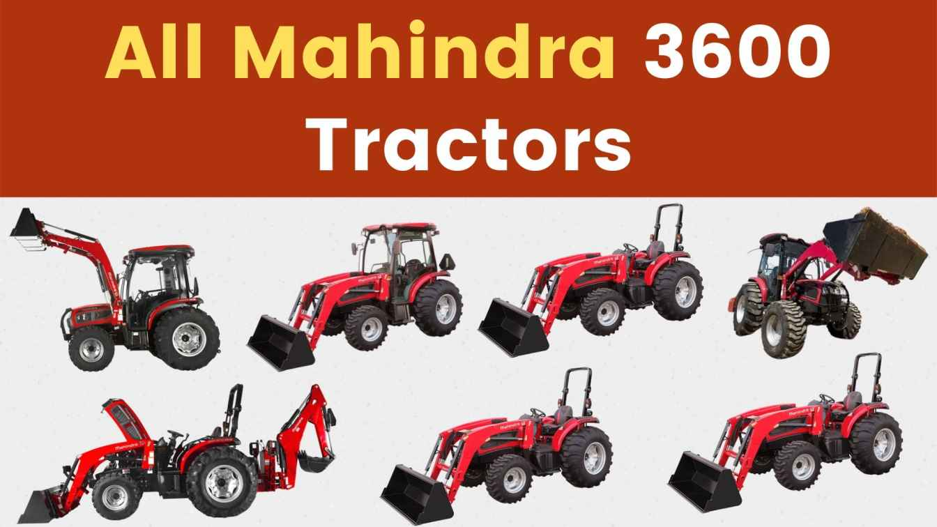All Mahindra 3600 Tractor Price Mileage Specs Overview 2020