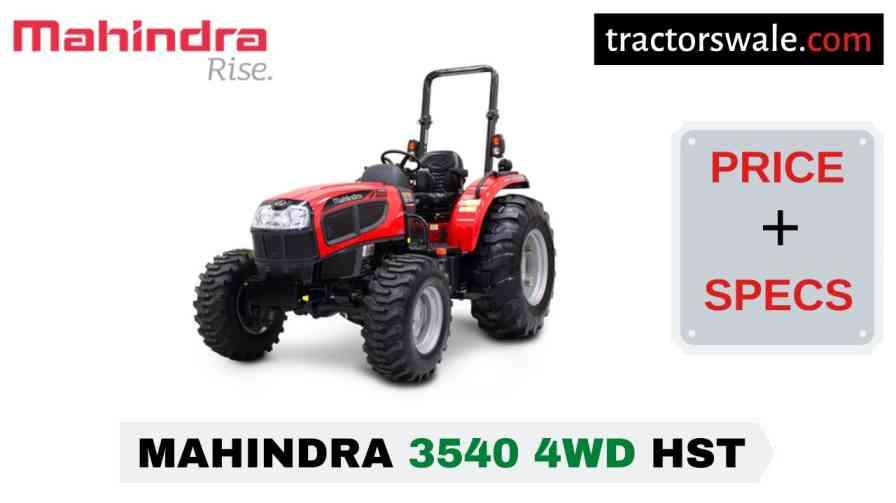 Mahindra 3540 4WD HST