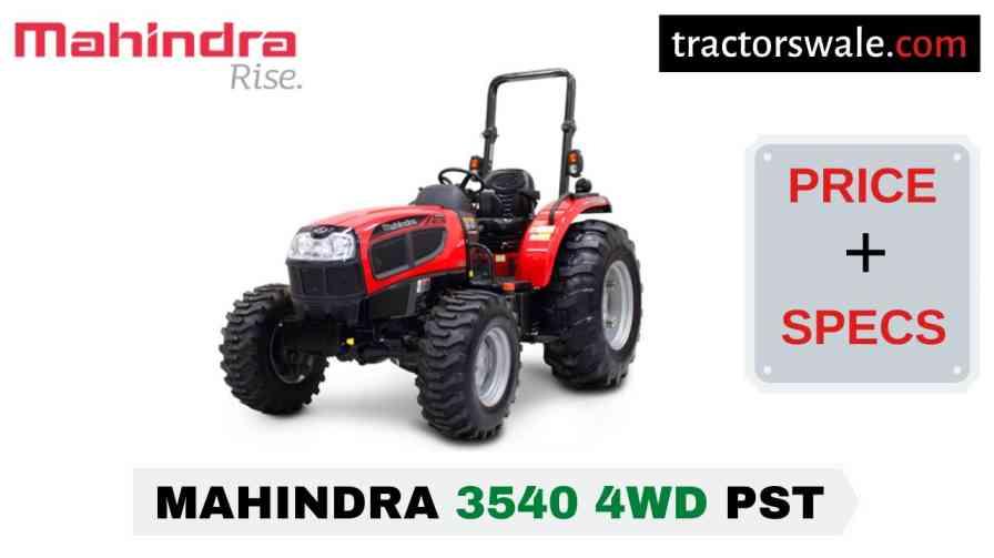 Mahindra 3540 4WD PST