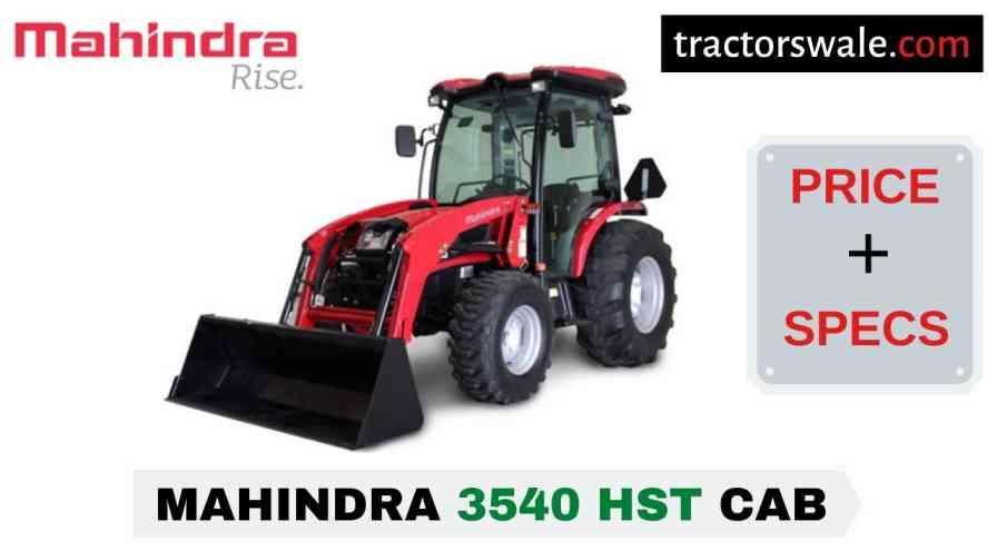 Mahindra 3540 HST CAB