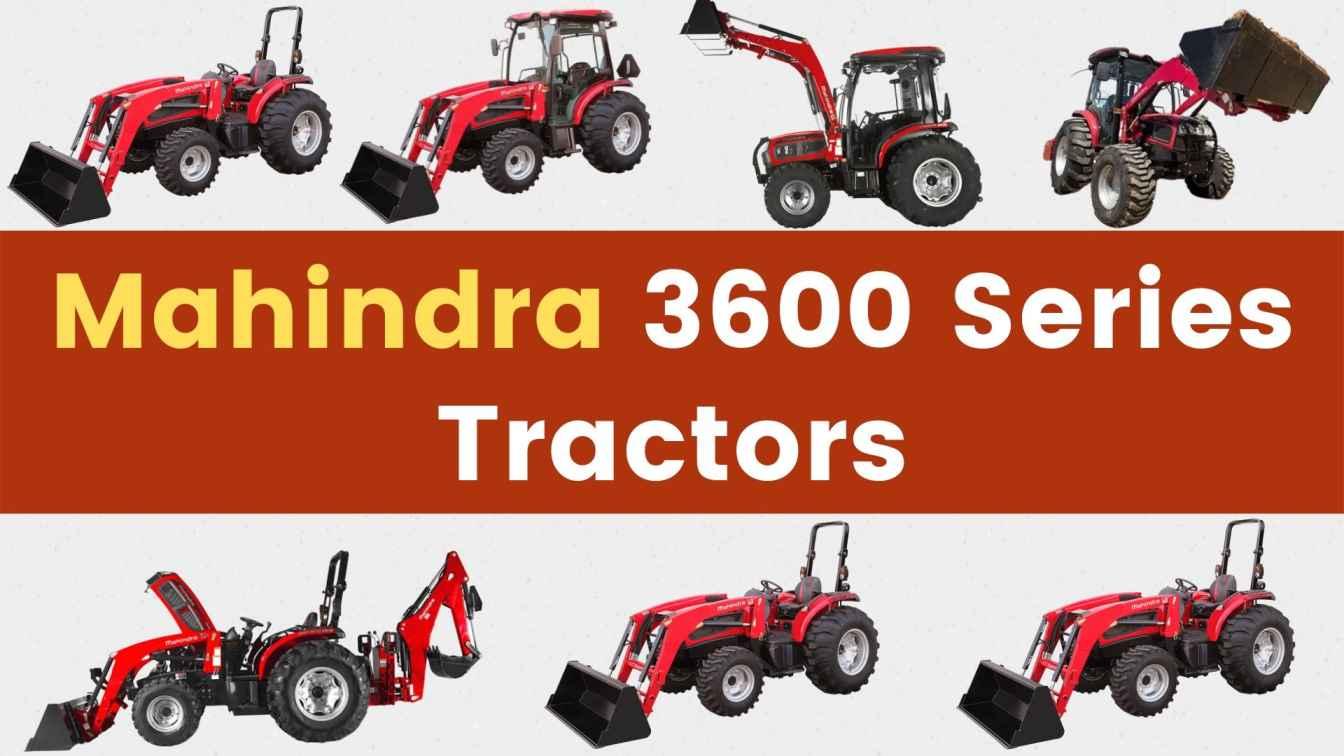Mahindra 3600 Series Tractors Price