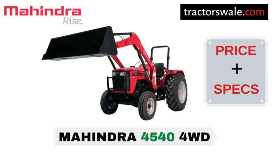 Mahindra 4540 4WD