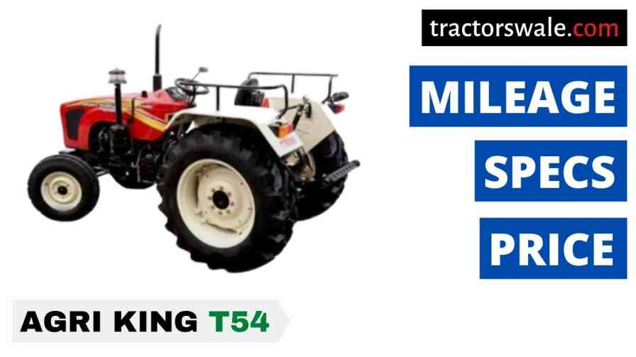 Best Agri king T54 Tractors Price
