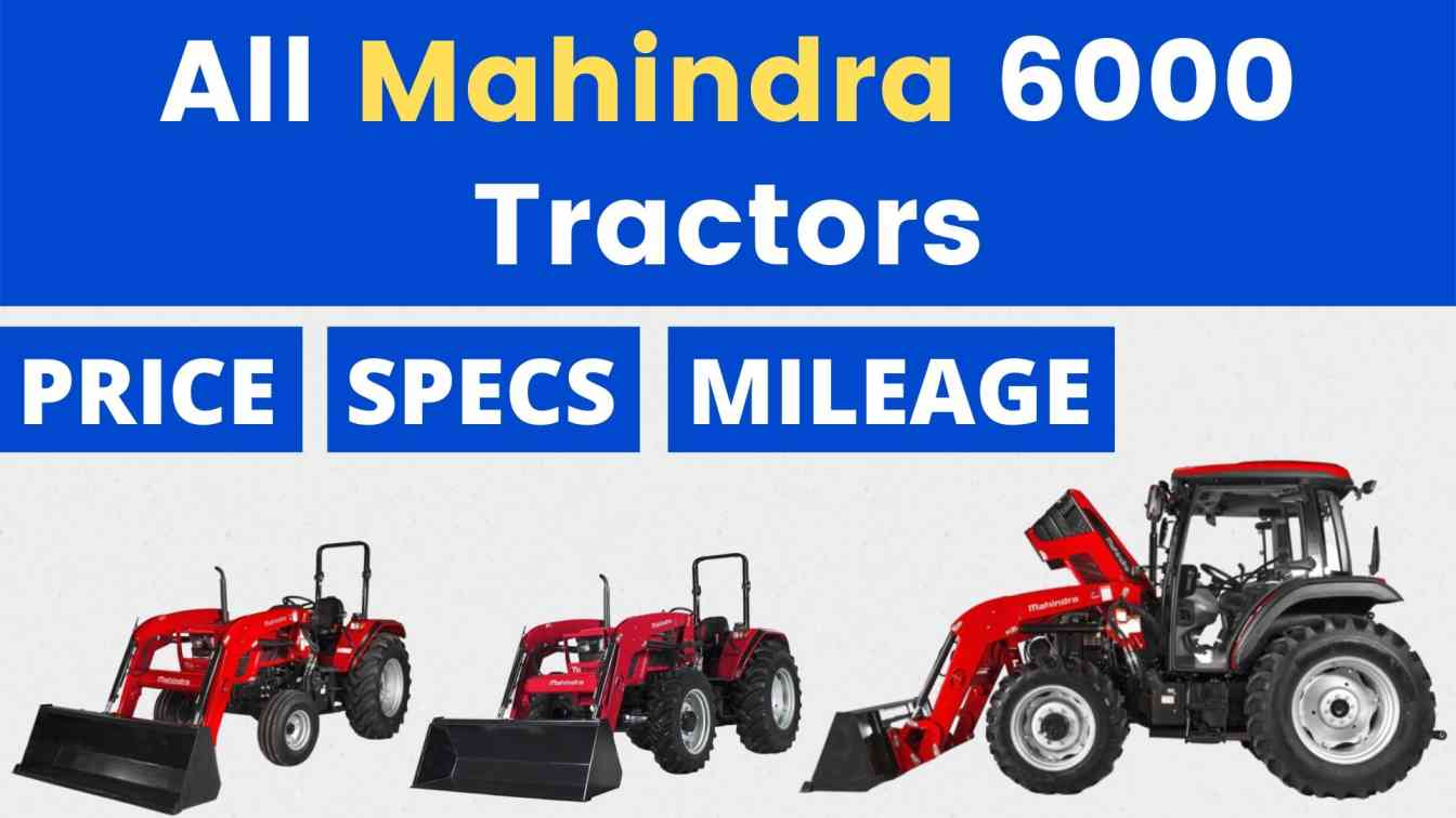 All Mahindra 6000 Tractor Price