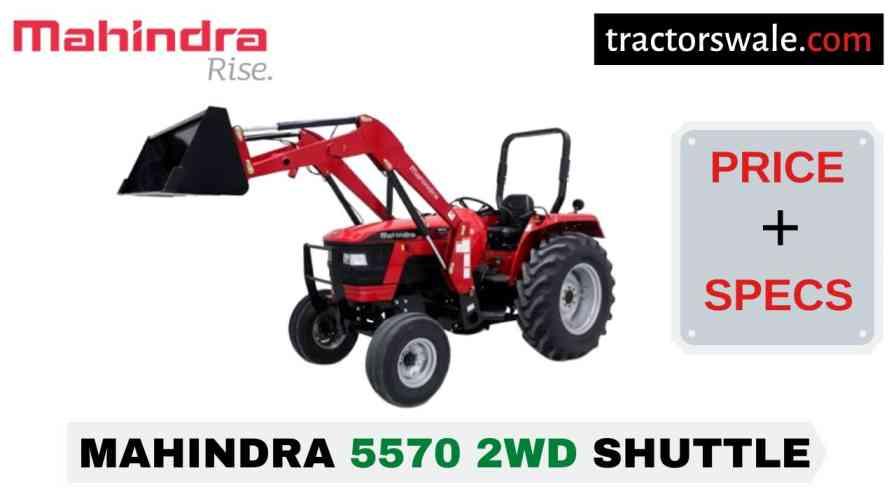 Mahindra 5570 2WD SHUTTLE