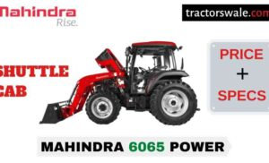 Mahindra 6065 POWER SHUTTLE CAB Price Mileage Specs 2020