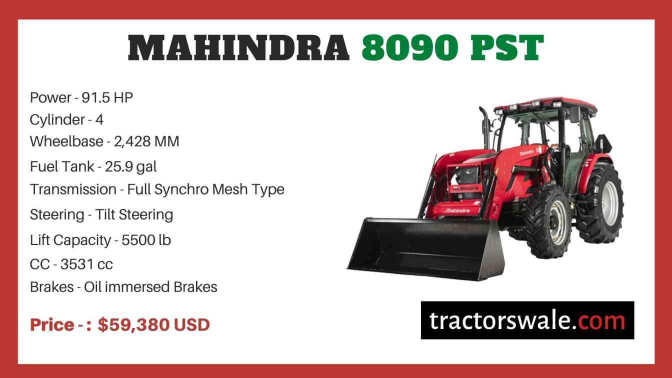Mahindra 8090 PST price