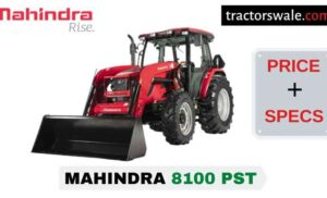 Mahindra 8100 PST Tractor Price Mileage Specs Overview 2020