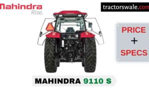 Mahindra 9110 S Tractor Price Mileage Specs Overview 2020