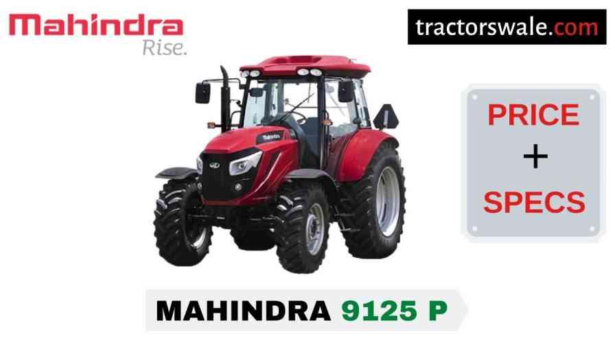 Mahindra 9125 P Tractor Price