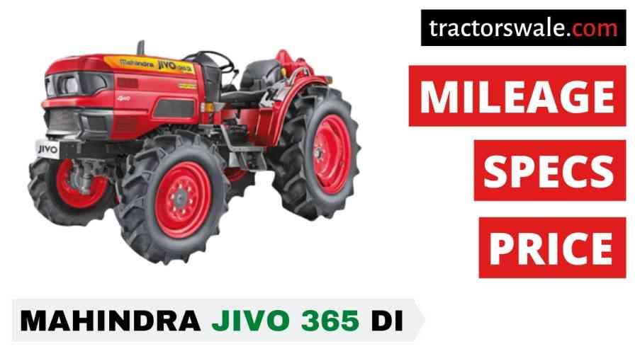 Best Mahindra Jivo 365 DI 4WD Price