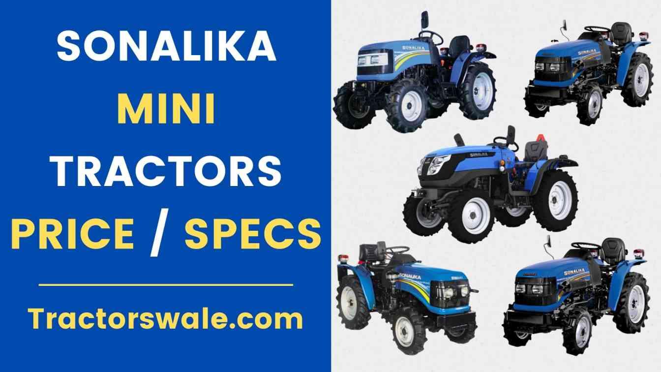 Sonalika Mini Tractors Price List in India