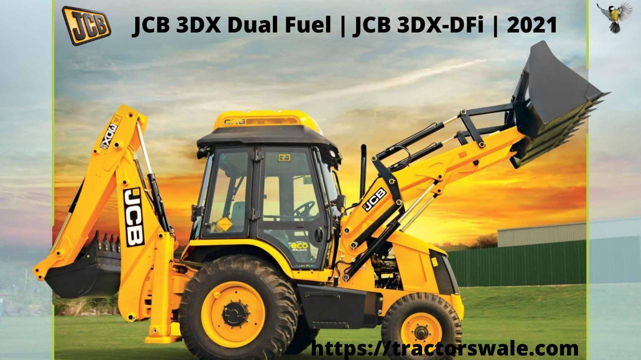 JCB 3DX Dual Fuel | JCB 3DX-DFi | 2021