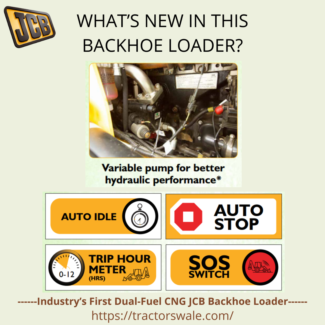 WHAT'S NEW IN THIS BACKHOE LOADER?
