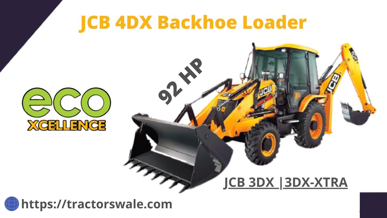 JCB 4DX Price & Specifications 2021 | JCB 4DX