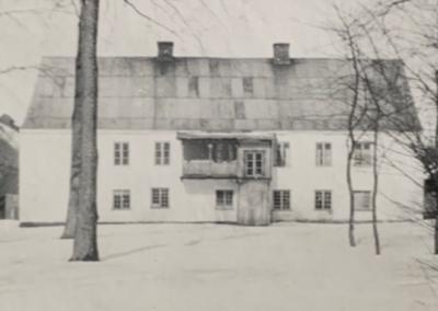Södersidan i full vintermundering - 1928